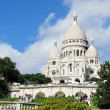 Sacre Coeur church - Stock Photo