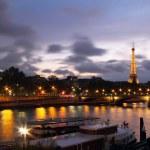 Seine river from Alexander III bridge — Stock Photo #13830400