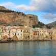 Stock Photo: Sicilitown of Cefalu