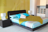 Colorful bedroom — Stock Photo