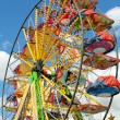 Detail of panoramic wheel at amusement park — Stock Photo #25872609