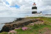 在爱尔兰钩头灯塔 — 图库照片
