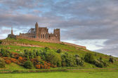 The Rock of Cashel at sunset — Stock Photo