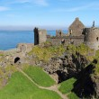Dunluce castle ruins — Stock Photo