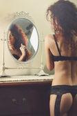 Vanity portrait — Stock Photo