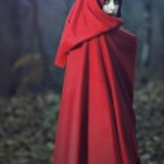 Dark fantasy portrait — Stock Photo