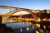 Dom Luiz bridge — Stock Photo