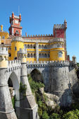 Fairy castle of  Palacio da Pena in Sintra — Stock Photo