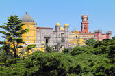 Palacio da Pena in the forest — Stock Photo