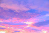 Background of clouds in pastel colors — Stock Photo