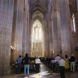 Church in Batalha monastery — Stock Photo
