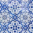 Portuguese tiles, Azulejos — Stock Photo