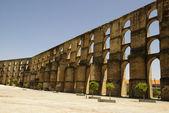 Aqueduct in Elvas, Portugal — Stock Photo