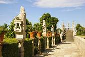 Jardim Episcopal Garden, Castelo Branco — Stock Photo