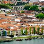 Wine cellars in Porto, Portugal — Stock Photo
