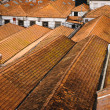 House roofs in Porto, Portugal - Stock Photo