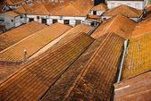 Huis daken in porto, portugal — Stockfoto