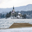 Lake Bled, Bled, Slovenia — Stock Photo