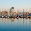 Yacht harbor, Barcelona — Stock Photo