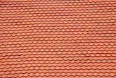 New red roof texture — Stock Photo