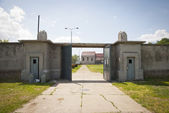 Concentration camp in Nis, Serbia — Stock Photo