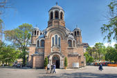 Sveti Sedmochislenitsi church in Sofia, Bulgaria, HDR image — Stock Photo
