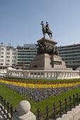 La estatua del zar alejandro ii, sofia, bulgaria — Foto de Stock