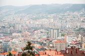 Vigo, galicia en día lluvioso — Foto de Stock