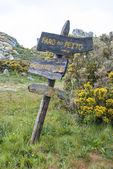 Parque natural de la islas cíes, galicia — Foto de Stock