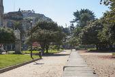 Parque en pontevedra, galicia — Foto de Stock