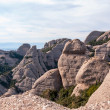 Mountains of Montserrat, near Barcelona — Stock Photo