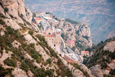 Monastery of Montserrat near Barcelona, Spain — Stock Photo