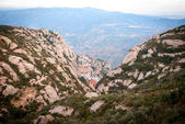 Monastery of Montserrat near Barcelona, Spain — Foto Stock