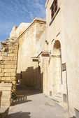 Medieval steet in Victoria, Gozo, Malta — Stock Photo