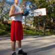 Foto de Stock  : Basketball Player