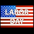 Stock Vector: Happy Labor day american