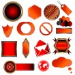 Red collection — Stock Vector #12927114