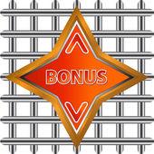 Abstracte bonus pictogram — Stockvector