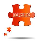 Abstract bonus icon — Stock Vector