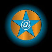 Resumen de correo electrónico icono — Vector de stock