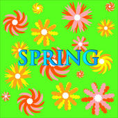 Fundo de primavera — Vetorial Stock