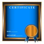 New business certificate — Stock Vector #13405139