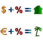 Simple mathematics — Stockvector