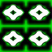 Original Green framework — Stock Vector