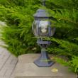 Stock Photo: Small lamp in park