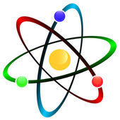 Atom symbol — Stock Vector
