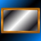 Gold framework — Stock Vector