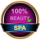 Nuevo logo de spa — Vector de stock