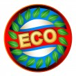 Stock Vector: Eco logo