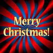 Wesołych świąt bożego narodzenia logo — Wektor stockowy